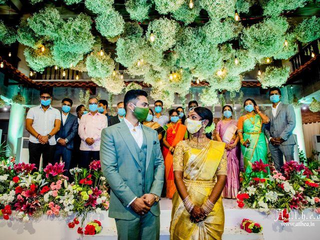 The wedding of Kiruthika and Wasim