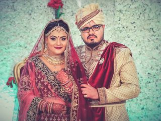 The wedding of Shweta and Aadarsh