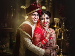 The wedding of Somalee and Abhishek