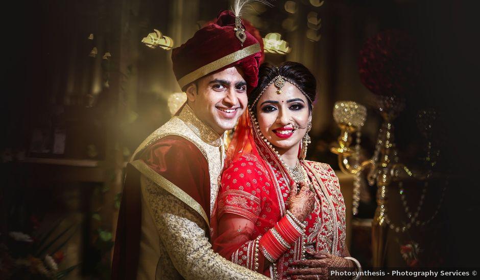 Somalee and Abhishek's wedding in North Delhi, Delhi NCR
