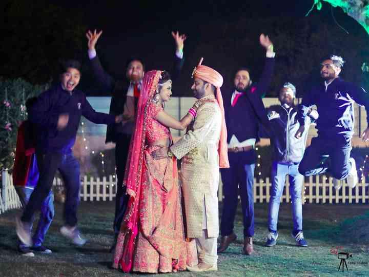 The wedding of Reema and Karan