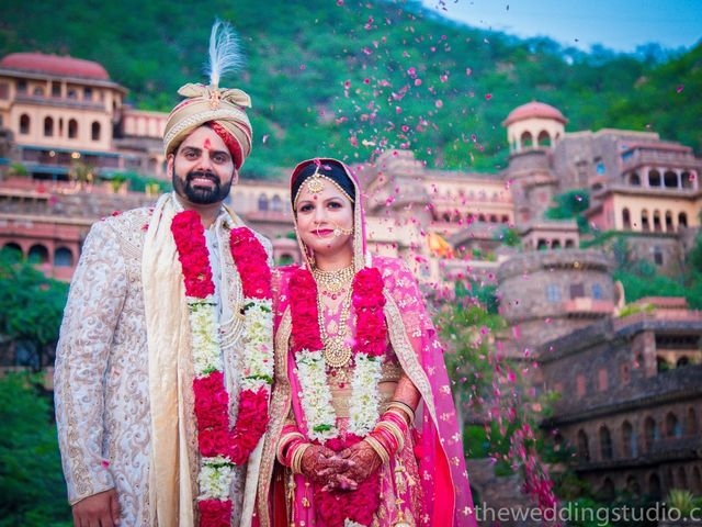The wedding of Sonali and Varun