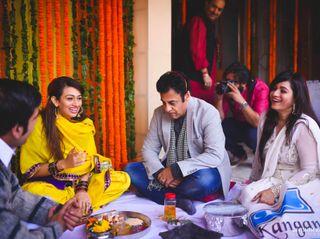 The wedding of Tarini and Simar 2