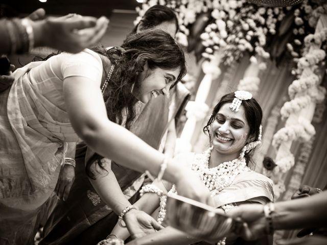 The wedding of Sri Lakshmi and Karthik