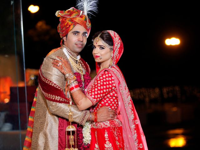 The wedding of Akansha and Anant