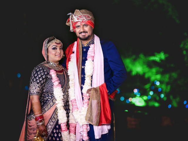 The wedding of Harleen and Vishal