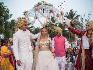 The wedding of Vedita and Arjun