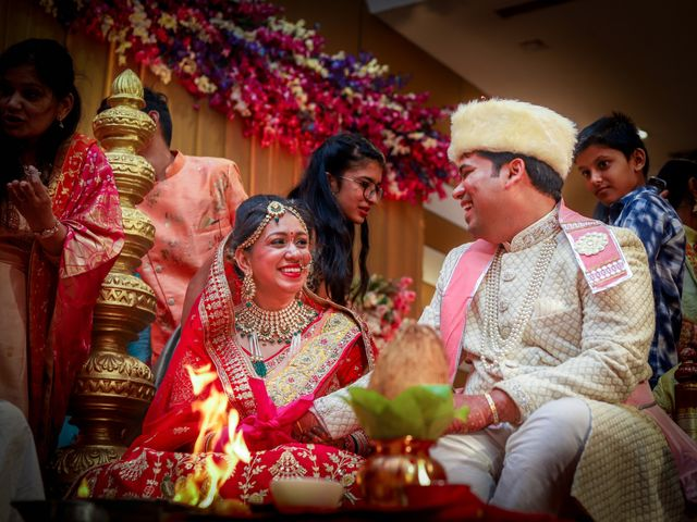 The wedding of Aanchal and Piyush