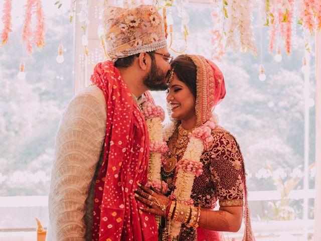 The wedding of Priyen and Anoli