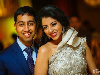 The wedding of Upasana and Sachin 1