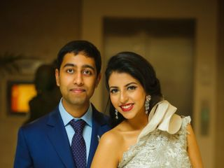 The wedding of Upasana and Sachin 3