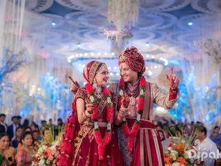 The wedding of Kanika and Nipun