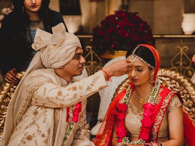 The wedding of Kalyani and Nirav