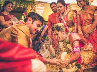 The wedding of Manvitha and Abheet