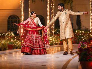 The wedding of Munmun and Ali