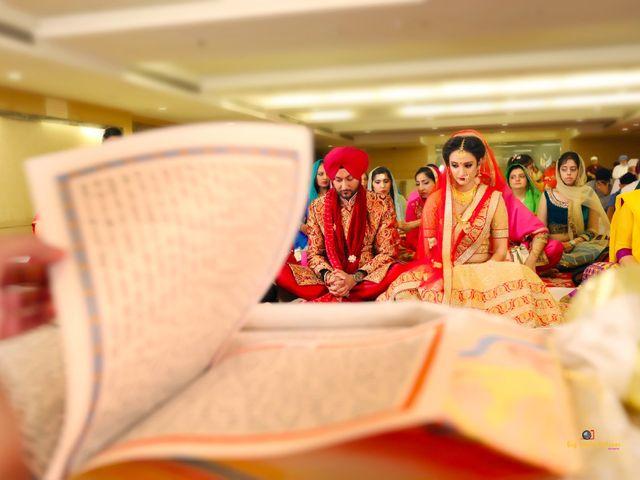 The wedding of Simran and Chandeep