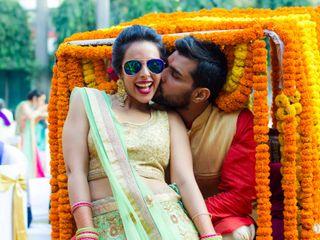 The wedding of Janesha and Abhinav