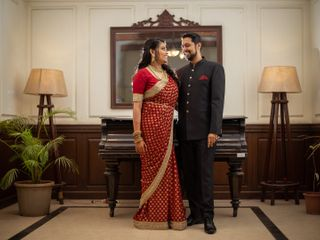 The wedding of Srushti and Jayesh