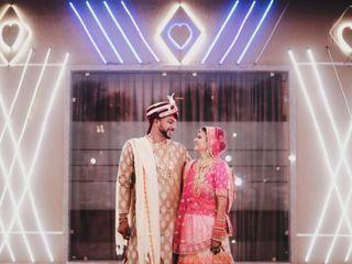 The wedding of Ritisha and Aayush
