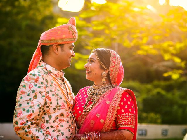 The wedding of Riddhi and Ronak