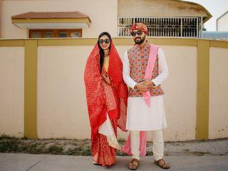 The wedding of Khushboo and Kavish 1