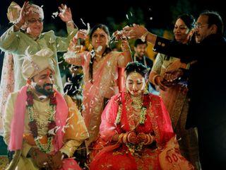 The wedding of Khushboo and Kavish 3