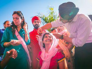 The wedding of Varanjot and Ankit 2