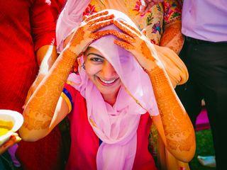 The wedding of Varanjot and Ankit 3