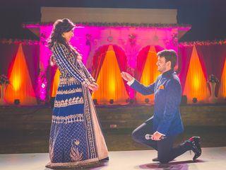 The wedding of Varanjot and Ankit