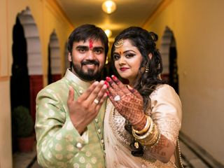 The wedding of Saumya and Prakhar