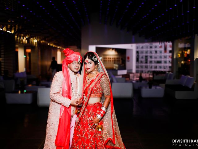 The wedding of Tista and Amogh