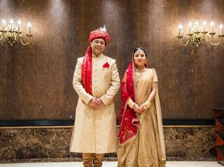 The wedding of Ruchika and Mohit