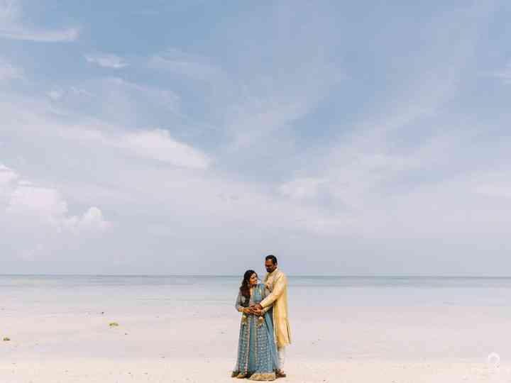 The wedding of Shuchita and Nishant