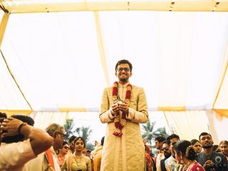 The wedding of Nishma and Niken 3