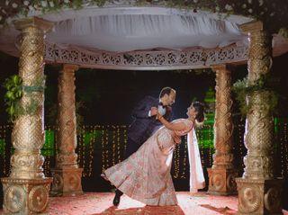 The wedding of Nishmita and Akash