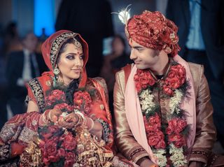 The wedding of Sonika and Gaurav