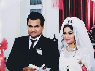 The wedding of Nishtha and Karan