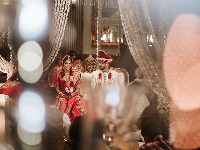 The wedding of Neaketa and Devesh
