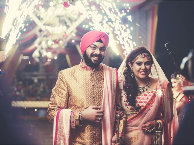 The wedding of Mansi and Harneet