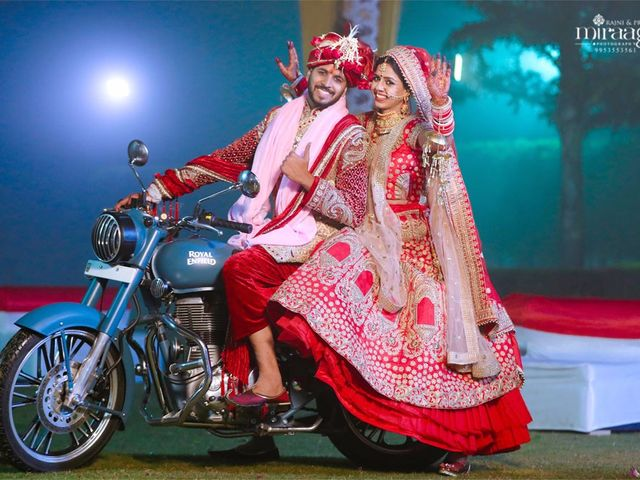 The wedding of Dhruv and Mayuri