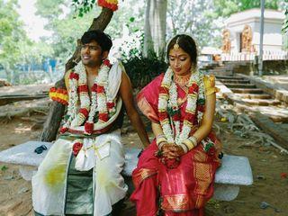 The wedding of Brahmi and Karthik