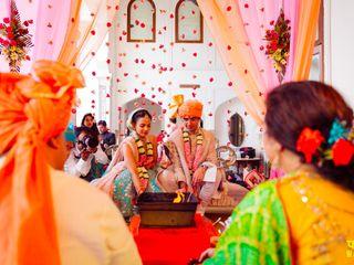 The wedding of Rijuta and Anish