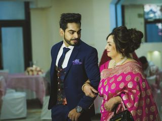 The wedding of Shailly and Karan 1