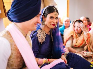 The wedding of Mohneet and Rainer 1