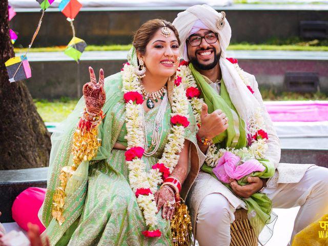 The wedding of Saanya and Varoon