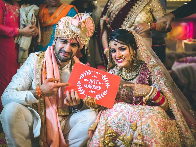 The wedding of Yashamita and Nitish