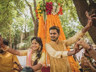 The wedding of Aditi and Himanshu 2