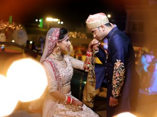 The wedding of Rohit and Mehak