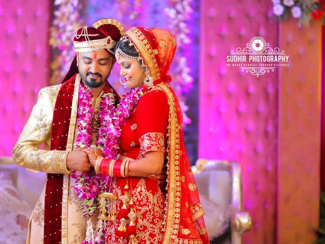 The wedding of Pooja and Smit