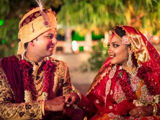 The wedding of Chhavi and Nikunj